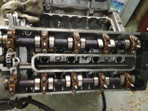 замена маслосъемных колпачков с ремонтом ГБЦ