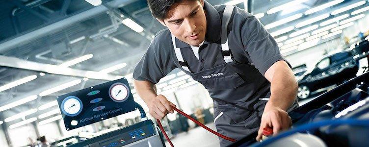 заправка и ремонт автокондиционеров bmw