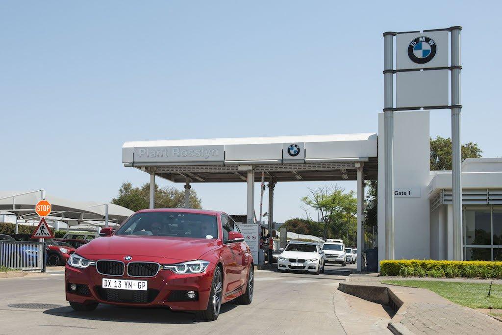 Завод BMW Rosslyn в Южной Африке
