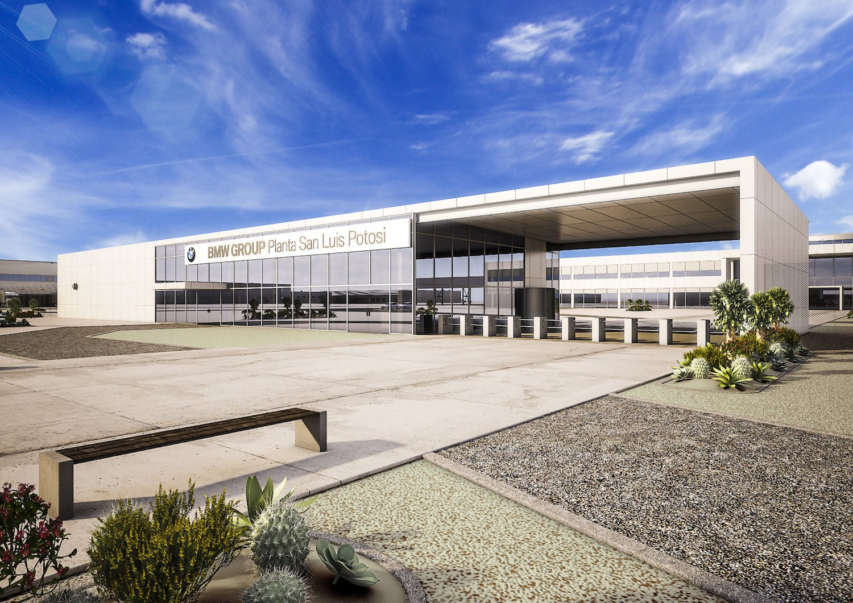 3D-проект завода BMW в Мексике