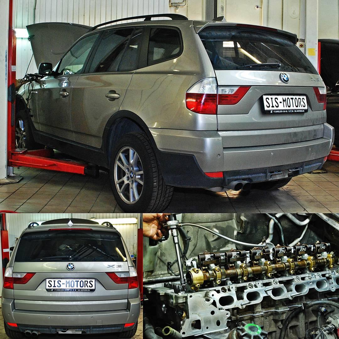 BMW X3 E83: прошивка DME на Евро-2, замена ГБЦ, ГРМ, Vanos