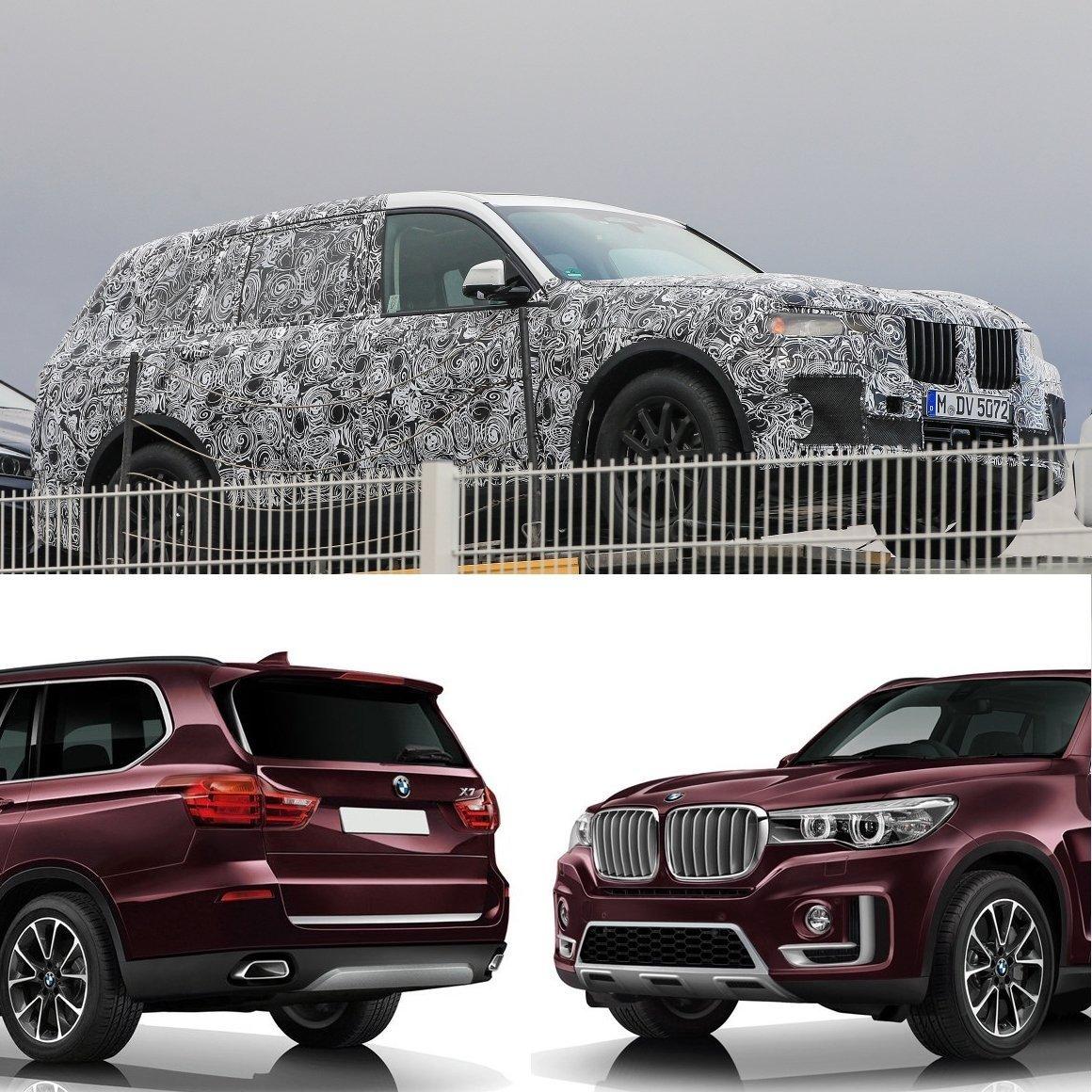 Bmw X7 M Series: BMW X7 рассекретили до премьеры