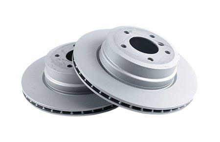 Замена задних тормозных дисков BMW