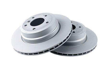 Замена передних тормозных дисков BMW
