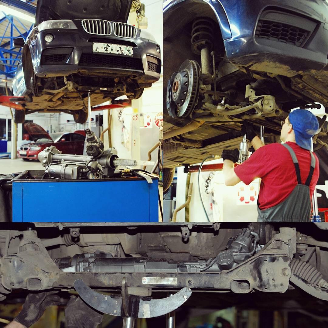 ремонт рулевой рейки на BMW X3
