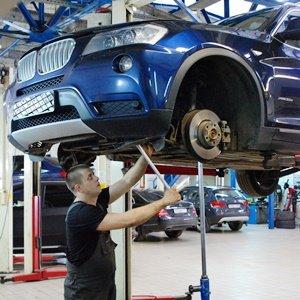 BMW X3 F25: ремонт ходовой и замена масла в АКПП