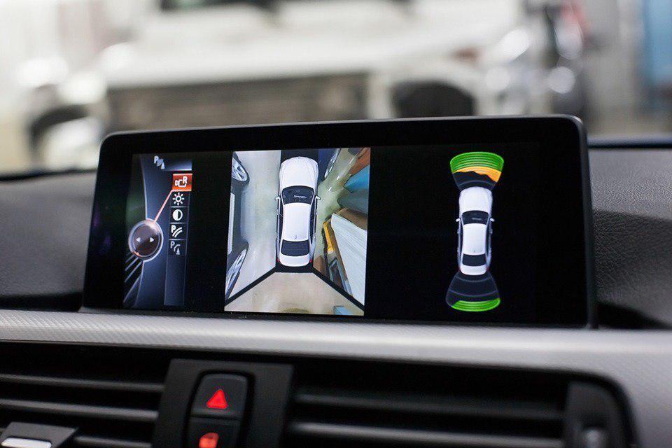 Дооснащение BMW камерами кругового обзора